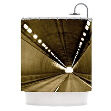 Tunnel Polyester Shower Curtain