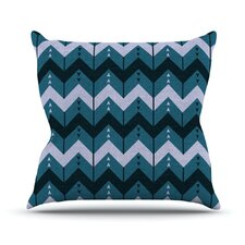 Chevron Dance Throw Pillow