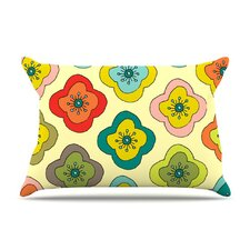 Forest Bloom Fleece Pillow Case