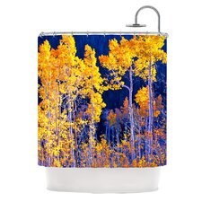 Aspen Trees Polyester Shower Curtain