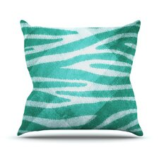 Zebra Texture Throw Pillow
