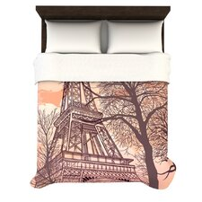 Eiffel Tower Fleece Duvet Cover Collection