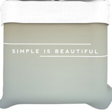 Simple Beautiful Duvet Collection
