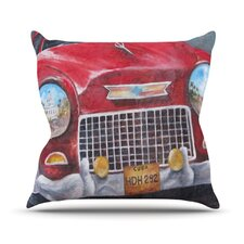 Vintage in Cuba Throw Pillow