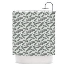 Feather Scene Polyester Shower Curtain