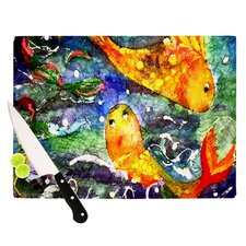 Fantasy Fish Cutting Board