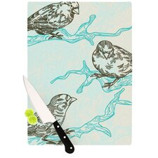 Birds in Trees Cutting Board