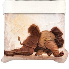 The Elephant with the Long Ears Duvet Cover