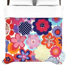 Patchwork Flowers Duvet Cover