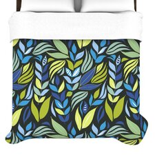 Underwater Bouquet Night Duvet Cover