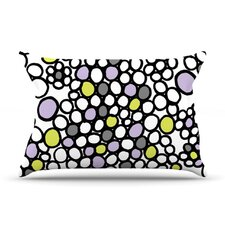 Pebbles Microfiber Fleece Pillow Case