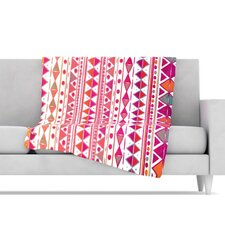 Summer Breeze Fleece Throw Blanket