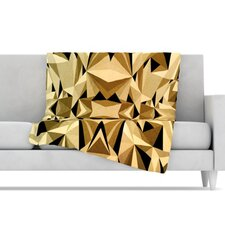 Abstraction Fleece Throw Blanket