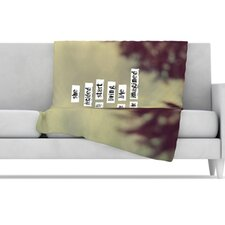 Her Life Fleece Throw Blanket