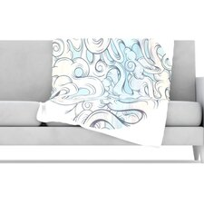 Entangled Souls Fleece Throw Blanket