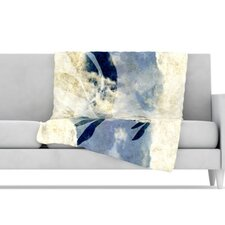 Doves Cry Microfiber Fleece Throw Blanket
