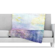 Color Grunge Microfiber Fleece Throw Blanket