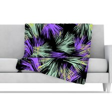 Tropical Fun Microfiber Fleece Throw Blanket