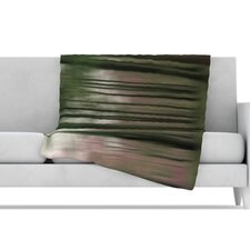 Forest Blur Microfiber Fleece Throw Blanket