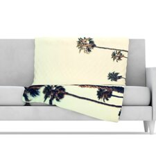 California Microfiber Fleece Throw Blanket