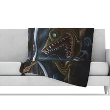 Sink or Swim Microfiber Fleece Throw Blanket