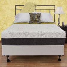 "12"" Memory Foam Plush Mattress"