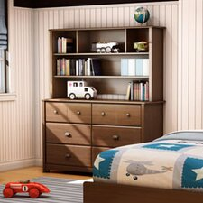 Willow 6-Drawer Dresser and Hutch Set