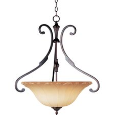 Allentown 3 Light Inverted Pendant
