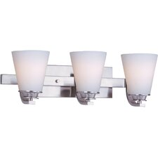Conical 3 Light Bath Vanity Light