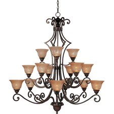 Symphony 15 Light Chandelier