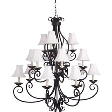 Manor 9 Light Chandelier