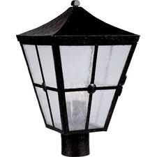 Castille 3 Light Outdoor Post Lantern