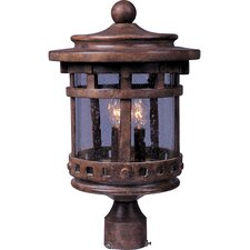 Santa Barbara VX 3 Light Outdoor Post Lantern