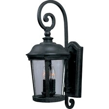 Dover Vx 3 Light Outdoor Wall Light