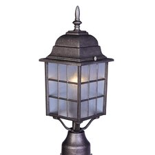 North Church 1 Light Outdoor Post Lantern