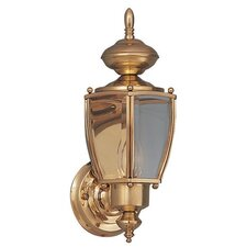 Builder Brass  Outdoor Wall Lantern