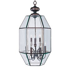 Bound Glass 9 Light Foyer Pendant
