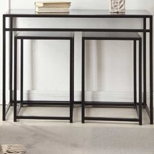 Designs 4 Comfort 3 Piece Console Table Set