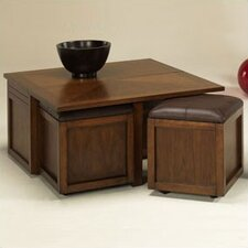 Nuance Coffee Table Set with Ottoman