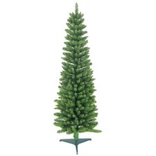 5' Green Pencil Artificial Christmas Tree