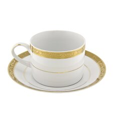 Paradise 8 oz. Teacup and Saucer