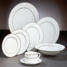 Double Silver Line Dinnerware Set
