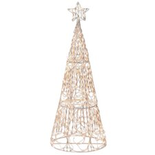 175 Light 3D Cone Tree Sculpture