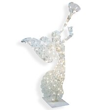 140 Light 3D Animated Angel Sculpture