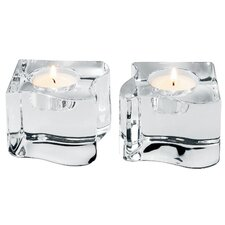 Puzzle Crystal Votives (Set of 2)