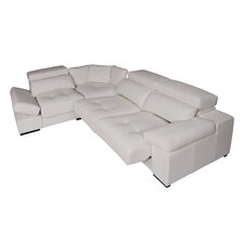 Luxury Messina Sectional Deluxe Version