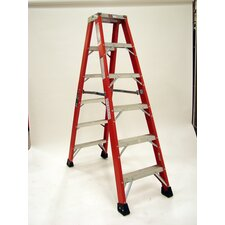 Extra Heavy Duty Double Front Stepladder