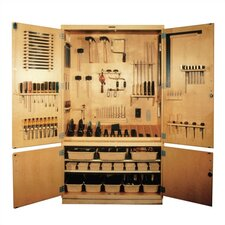 Small Woodworking Tool Storage Cabinet