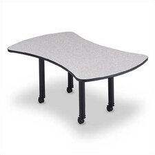 "120"" Wide Presentation Top Conference Table with Designer Base"
