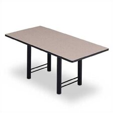 "72"" Wide Rectangle Top Conference Table with H Base"